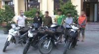 TT-Huế: Tóm gọn nhóm thiếu niên chuyên trộm xe máy giữa đêm khuya