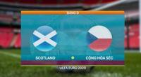 """Highlight Scotland vs CH Czech (0-2): Cú làm bàn """"thả diều"""" đẳng cấp từ giữa sân"""