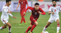 CLIP: ĐT Việt Nam phối hợp như đá tập, Tiến Linh phá lưới UAE