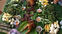 Độc nhất vô nhị loại bánh chưng nhân cá suối ở miền Tây Thanh Hóa