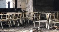Cận cảnh hiện trường cháy phòng trà ca nhạc, 6 người tử vong ở Vinh