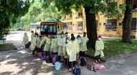 Covid-19: Gần 500 lao động từ vùng dịch Bắc Giang về đến Thái Nguyên