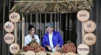 """Khi vải thiều lên máy bay ra thế giới, doanh nghiệp mang nông sản lên chợ """"ảo"""", nghệ sĩ bán trái cây"""