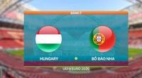 Highlight Hungary vs Bồ Đào Nha (0-3): Ronaldo tiếp tục tỏa sáng