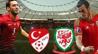 Xem trực tiếp Thổ Nhĩ Kỳ vs xứ Wales trên VTV6