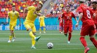 Kết quả, BXH EURO ngày 17/6: Ukraine có 3 điểm quý giá