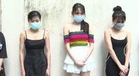 Hàng chục nam nữ thác loạn trong quán karaoke ở Hà Nội
