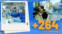 Bộ Y tế: Diễn biến dịch Covid-19 cập nhật đến 18h ngày 18/6, Việt Nam ghi nhận thêm 264 ca dương tính