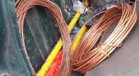 Đồng Nai: Bắt 3 đối tượng trộm dây cáp điện trên cao tốc