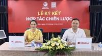 Ký kết hợp tác chiến lược giữa Công ty CP Văn hóa và giáo dục Tân Việt với Công ty Văn phòng phẩm Hồng Hà