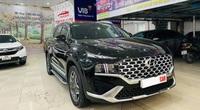 Hyundai Santa Fe 2021 lăn bánh 200 km rao bán đắt hơn giá xe mới