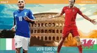 Trực tiếp bóng đá EURO 2020 hôm nay 20/6 trên VTV3, VTV6
