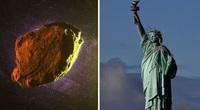 """Tiểu hành tinh có kích thước to gấp đôi tượng Nữ thần Tự do sắp """"ghé thăm"""" Trái đất"""