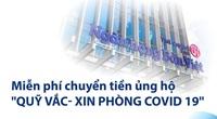 Ngân hàng Bản Việt miễn phí chuyển khoản online và tại quầy, ủng hộ Quỹ Vaccine phòng Covid-19