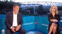"""Rộ clip nữ MC lộ """"cảnh nóng"""" khi đang bình luận EURO 2020"""
