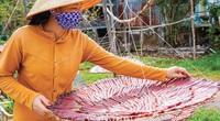 Khô cá kèo đỏ - một trong những đặc sản độc, lạ, hiếm ở xứ Tân Ân