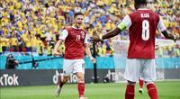 """Kết quả, BXH EURO 2020 ngày 22/6: Áo giật """"vàng"""" trên tay Ukraine"""