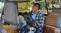 Vắng khách du lịch, dân lái xe điện Sầm Sơn lâm cảnh chết đói