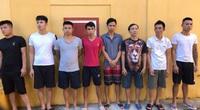 Hà Nam: Bắt 8 đối tượng đánh bạc dưới hình thức đánh liêng trong dịch Covid-19