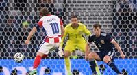 Highlight Croatia vs Scotland (3-1): Luka Modric ghi siêu phẩm tiễn Scotland về nước