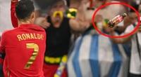 """Ronaldo bị CĐV quá khích """"tấn công"""" khi ăn mừng bàn thắng"""