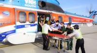 Bay cấp cứu xuyên đêm cứu sống chiến sĩ nhồi máu cơ tim ở đảo Trường Sa