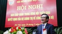 Chủ tịch Hội Nông dân Việt Nam Lương Quốc Đoàn được giới thiệu để hiệp thương cử tham gia Đoàn Chủ tịch UBTƯ MTTQ