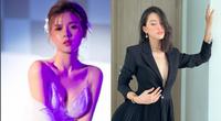 Midu hiếm hoi hở bạo bên bồn tắm, Trần Tiểu Vy diện váy xẻ sâu dẫn đầu top sao mặc đẹp tuần qua