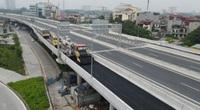Toàn cảnh 6 cầu nối đường trên cao Mai Dịch với đường vành đai 3 sắp hoàn thiện