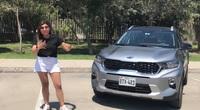 Nữ Youtuber trải nghiệm Kia Sonet 2021 trước ngày ra mắt Việt Nam