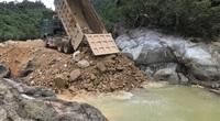 Giai đoạn 7 tìm kiếm 11 nạn nhân tại Rào Trăng gian nan bởi các bãi đá ngầm