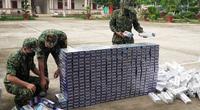 Biên phòng An Giang liên tiếp bắt giữ hàng nghìn gói thuốc lá lậu qua biên giới