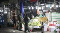 Video: Chợ đầu mối Long Biên vắng lặng trong mùa dịch Covid-19