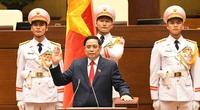 """Thủ tướng Phạm Minh Chính: """"Chính phủ và cá nhân tôi nguyện cống hiến hết sức mình phụng sự Tổ quốc, phục vụ Nhân dân"""""""