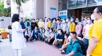 TP.HCM: 87 y, bác sĩ Bệnh viện Hùng Vương lên đường tiếp nhận Bệnh viện dã chiến số 16