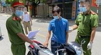 Ngày giãn cách thứ 5, số tiền phạt người vi phạm ở Hà Nội nhiều hơn các ngày trước