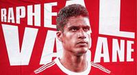 Bán Varane cho M.U, Real Madrid thu về khoản lãi khổng lồ