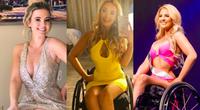 """Nhan sắc quyến rũ """"đốn tim"""" của mỹ nhân ngồi xe lăn suốt 16 năm vừa đoạt giải Á hậu 2 tại Mỹ"""