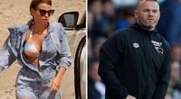 Ân hận, Rooney xin lỗi vợ, xin Derby County thêm cơ hội