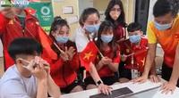 Ấm áp chuyện các Cổ động viên Việt Nam cổ vũ đội tuyển nước nhà tại Olympic Tokyo 2020