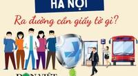 Người dân Hà Nội ra đường cần mang giấy tờ gì để không bị phạt?
