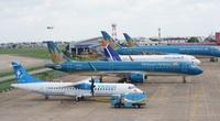 """Máy bay """"nằm"""" la liệt tại sân bay: Cần cấp quyền ưu tiên vào """"luồng xanh"""" hàng không"""