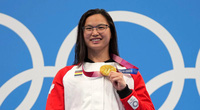 Em bé gốc Hoa bị bỏ rơi đoạt HCV Olympic 2020 cho Canada