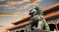 Vì sao đôi sư tử ở cung Càn Thanh trong Tử Cấm Thành lại... cụp tai?