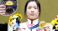 """Tiết lộ """"bùa may mắn"""" của nữ VĐV Trung Quốc xinh đẹp đoạt 2 HCV"""