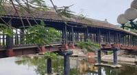 Ninh Bình: Cầu ngói Phát Diệm trăm năm soi nước sông Ân, trăm năm in hình bóng tiền nhân đi mở đất