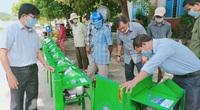 Quảng Ngãi: Hội Nông dân tỉnh hỗ trợ 50 máy thái cỏ đa năng cho hội viên, nông dân nghèo
