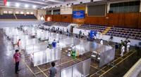 Sử dụng sân vận động, nhà thi đấu, lập bệnh viện dã chiến triển khai tiêm vaccine cho người dân Hà Nội