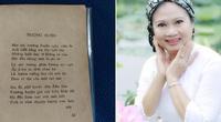 """Con gái thi sĩ Nguyễn Bính nói về dị bản của bài thơ """"Trường huyện"""": Nên tuân theo những gì cha tôi công bố"""