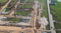 Phú Thọ: Bị yêu cầu tạm dừng, khu đô thị mới Thanh Minh vẫn được thi công rầm rộ
